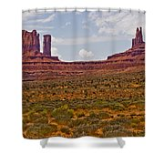 Colorful Monument Valley Shower Curtain