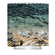 Colorful Pacific Ocean Shower Curtain