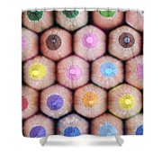 Colorful Pencils 2 Shower Curtain