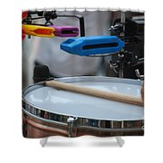 Colorful Percussion Shower Curtain