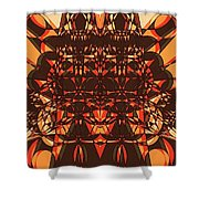 Colorful Pinball Wizardry Shower Curtain