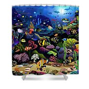 Colorful Reef Shower Curtain