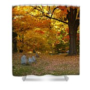 Colorful Rest Shower Curtain