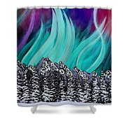 Colorful Sky Shower Curtain