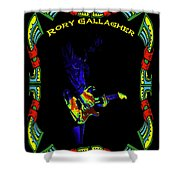 Colorful Slide Playing By Rory Shower Curtain