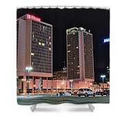 Colorful St Louis Night Shower Curtain