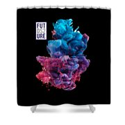Colorful Stylish Abstract Shower Curtain