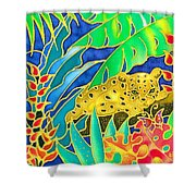 Colorful Tropics 4 Shower Curtain