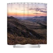 Colorful Valley Shower Curtain