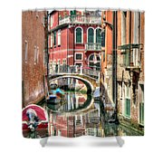 Colorful Venice  Shower Curtain