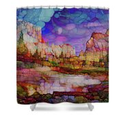 Colorful Vista Shower Curtain