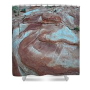 Colorful Wash 2 Of Valley Of Fire Shower Curtain