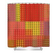 Colorful Weave Shower Curtain
