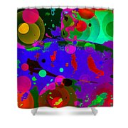 Colorful World Of A Fish Shower Curtain