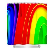 Colorful1 Shower Curtain