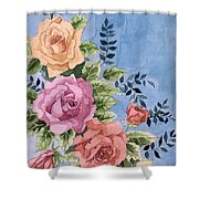 Colorfull Roses Shower Curtain