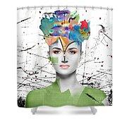 Colorist Shower Curtain