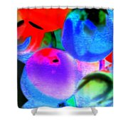 Colors 2 Shower Curtain