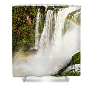 Colors Above The Water Shower Curtain