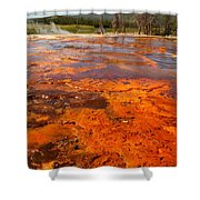 Colors And Layers Shower Curtain