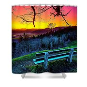 Colors And Light  Shower Curtain