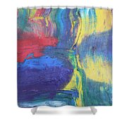 Colors Shower Curtain