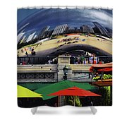 Colors N Curves Shower Curtain