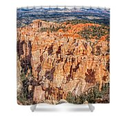 Colors Of Bryce Shower Curtain