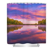 Colors Of Chatfield Shower Curtain
