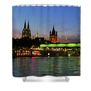 Colors Of Cologne Shower Curtain