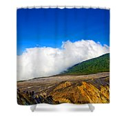Colors Of Costa Rica Shower Curtain