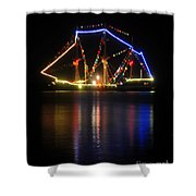 Colors Of Gasparilla Shower Curtain