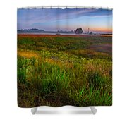 Colors Of Iowa  Shower Curtain