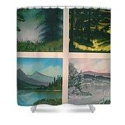 Colors Of Landscape 2 Shower Curtain