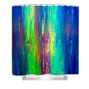 Colors Of My Mind Shower Curtain