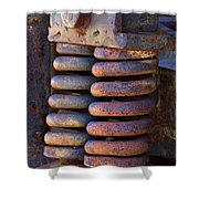Colors Of Rust Shower Curtain