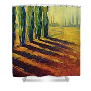 Colors Of Summer 4 Shower Curtain