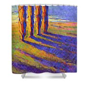 Colors Of Summer 5 Shower Curtain