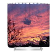 Colors Of Sunset Shower Curtain