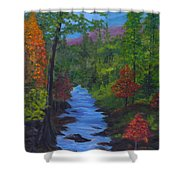 Colors Of The Blue Ridge Shower Curtain