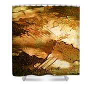 Colors Of The Desert Shower Curtain