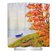 Colors Of The Fall Shower Curtain