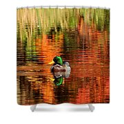 Colors Of The Morning Shower Curtain
