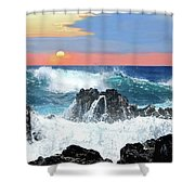 Colors Of The Ocean Shower Curtain