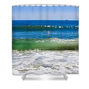 Colors Of The Sea Shower Curtain