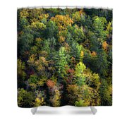 Colors Of The Smokies Shower Curtain