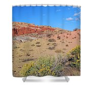 Colors Of The Utah Desert Shower Curtain