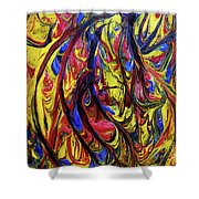 Colors Of The Wind 1 Shower Curtain