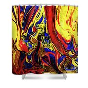 Colors Of The Wind 3 Shower Curtain