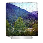 Colors Of Vail Shower Curtain